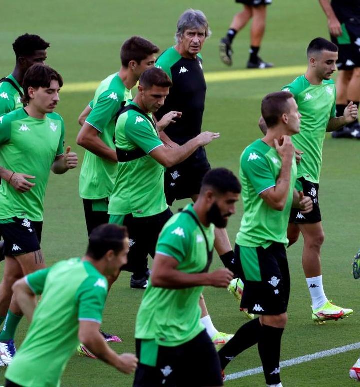 Le Real Betis prépare la réception de Getafe. EFE