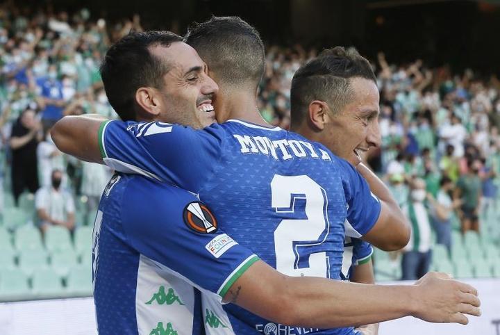 El Betis ganó 1-3 con total justicia. EFE/Archivo