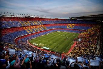 Vuelve el 100% del aforo a Cataluña. EFE