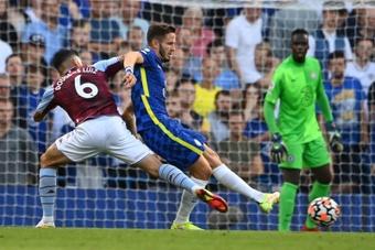 Saúl solo ha jugado dos partidos desde su llegada al Chelsea. EFE