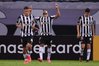 Atlético Mineiro marcha líder en solitario en la Liga Brasileña. EFE