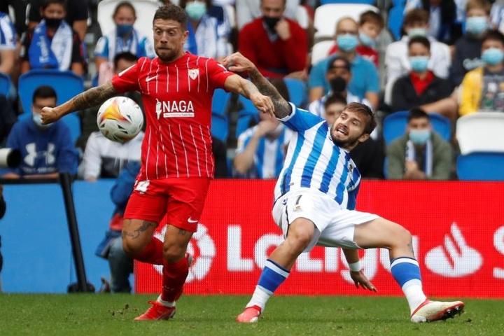 Portu apunta a la titularidad contra el Granada. EFE