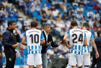 19 ans après, la Real Sociedad égale son meilleur début de championnat. EFE