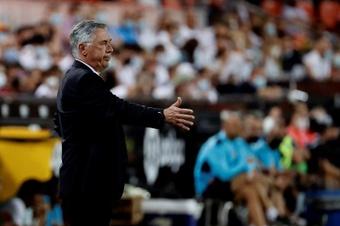 Carlo Ancelotti a analysé la victoire in-extremis. EFE