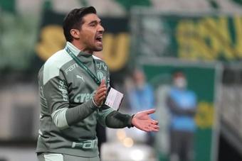El entrenador Abel Ferreira de Palmeiras, en una fotografía de archivo. EFE