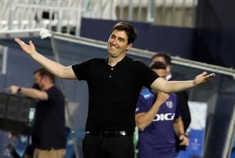 Iraola regresó a San Mamés como rival. EFE