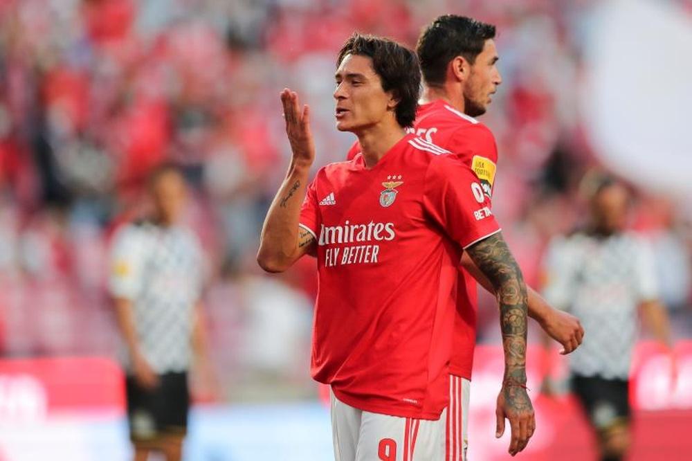 Melhor avançado de setembro e 'MVP' da Liga Portuguesa.EFE