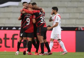 Athletico Paranense y Bragantino ya conocen al colegiado que les arbitrará. EFE