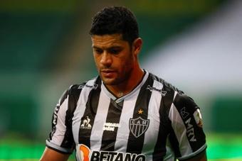 Hulk quer seguir no Atlético-MG em 2022.EFE