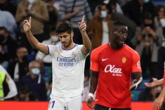Juve, Liverpool y Milan se relamen ante la falta de minutos de Asensio. EFE/Juanjo Martín