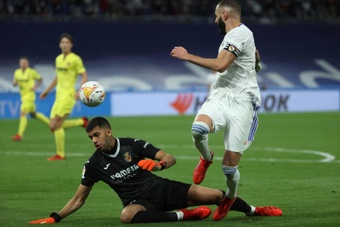 Real Madrid and Villarreal shared the spoils in a dull encounter. EFE