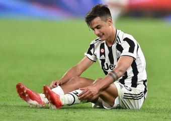 Dybala est forfait pour affronter la Roma. EFE