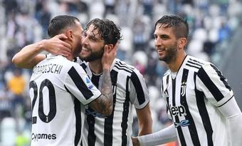 La Juventus venció 3-2 a la Sampdoria. AFP