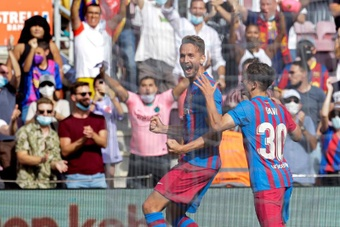 El Barça firmó un triunfo que le llena de moral. EFE
