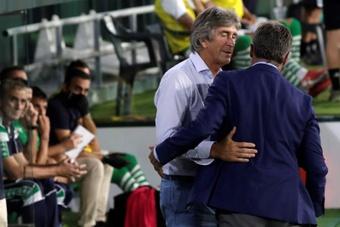Pellegrini ha dejado a Míchel al borde del despido. EFE