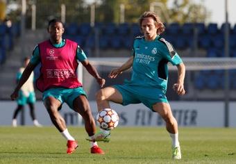 El contrato de Modric vence en 2022. EFE