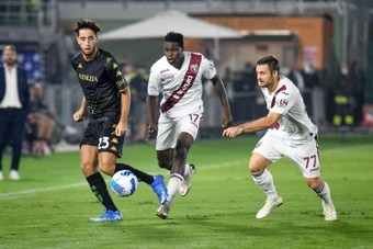 El Venezia y el Torino repartieron los puntos en la sexta jornada de la Serie A. EFE