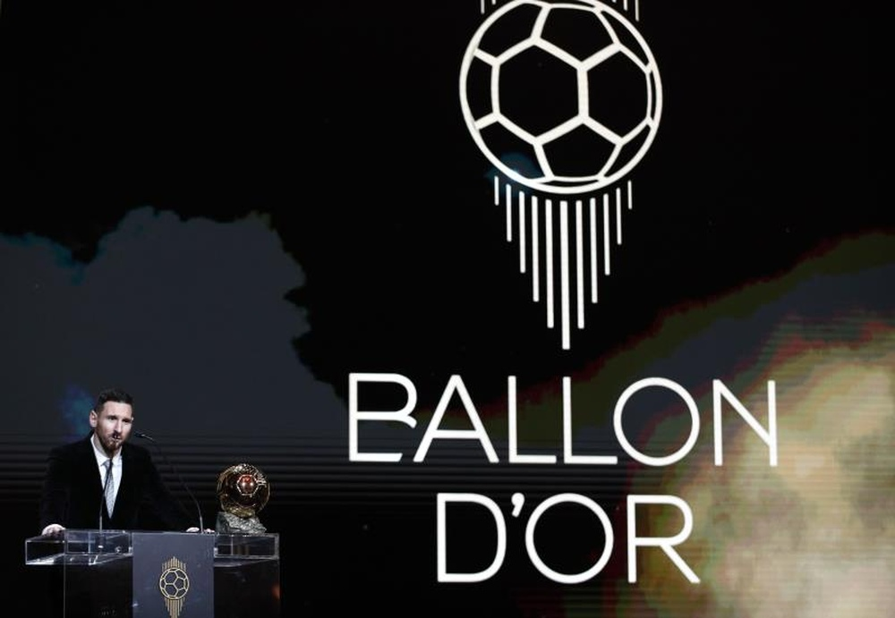 Messi is once again the favorite to win the Ballon D'Or. EFE