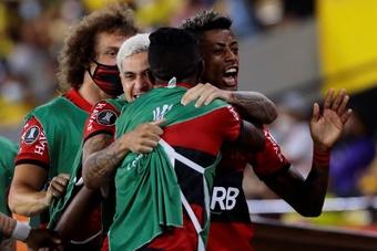 Imparable Bruno Henrique. EFE