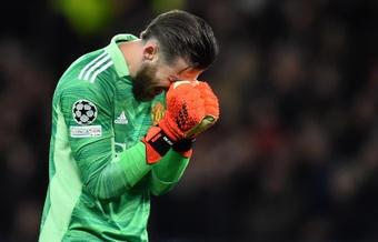 El portero español del Manchester United, David de Gea. EFE