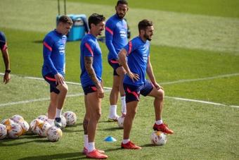 El Atlético de Madrid no volverá a jugar hasta el 19 de octubre. EFE