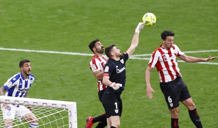 El Athletic suministra talento a 'la Roja' y a 'la Rojita'. EFE
