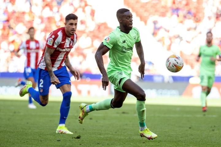 Iñaki Williams añadió un jugador de la Real Sociedad en su once ideal. EFE