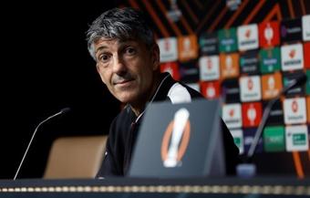 Imanol alabó a Diego Pablo Simeone. EFE