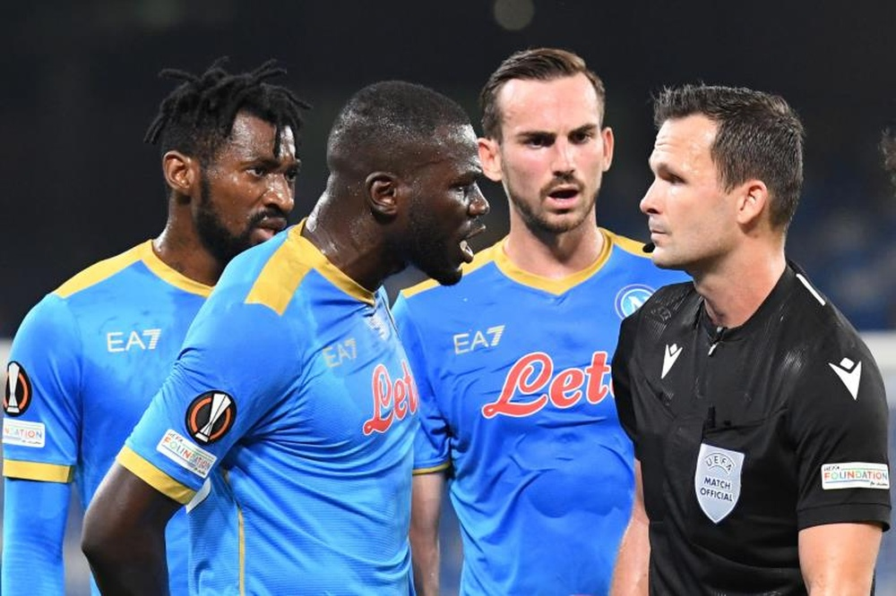 Il Napoli perde contro lo Spartak. EFE