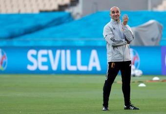 Roberto Martinez n'a pas été contacté par le Barça. EFE