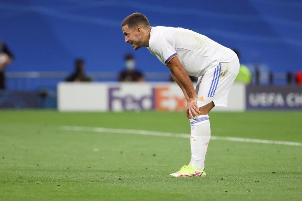 Hazard quiere llegar al 'Clásico'. EFE/Juanjo Martín