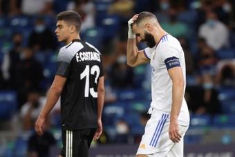Advogado de Benzema fala sobre o caso do jogador. EFE/Juanjo Martín