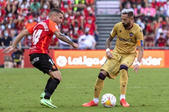 El Mallorca venció 1-0 al Levante. EFE/Cati Cladera