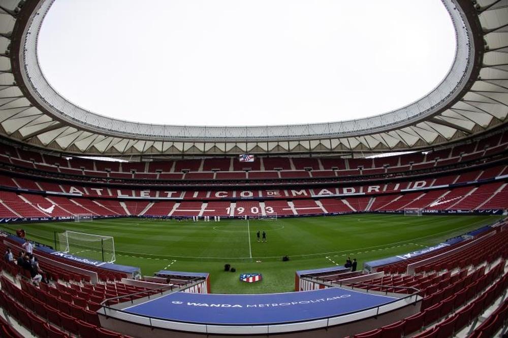 LaLiga deberá cuadrar las fechas para los cuatro partidos aplazados. EFE