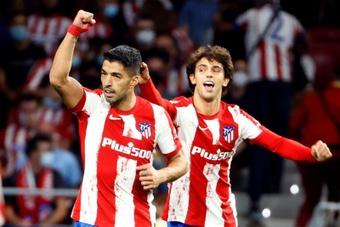 Luis Suarez voit cette année comme celle de Joao Felix. EFE