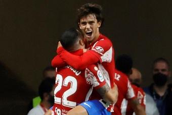 Joao Felix wants to play with Neymar. EFE
