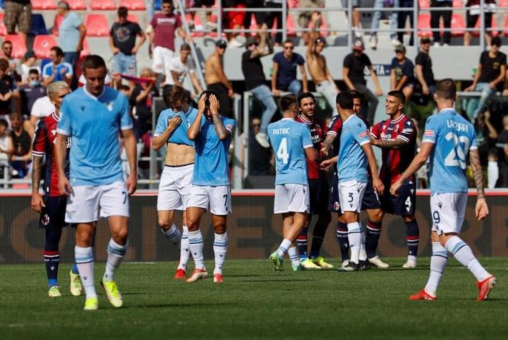 El Bologna se impuso a la Lazio. EFE