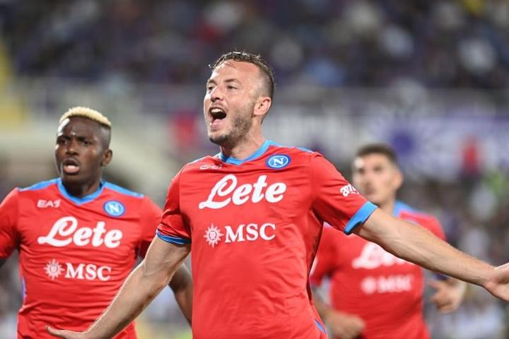Le Napoli reçu sept sur sept en Serie A. EFE