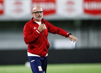 La Selección Española Sub 21 ya se encuentra en Sevilla. EFE