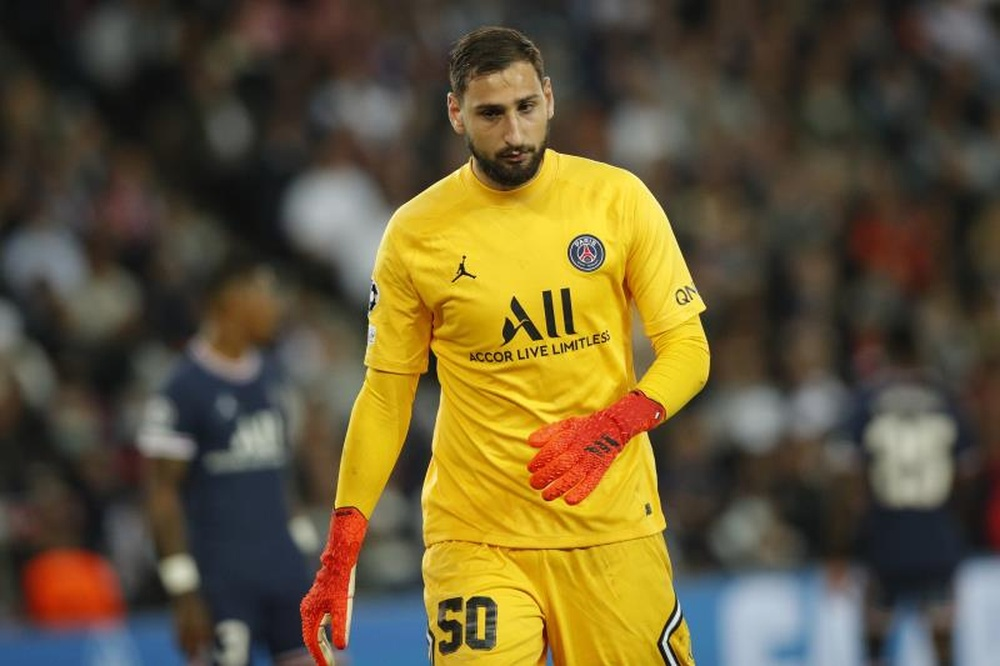Donnarumma made the squad to play against Spain. EFE