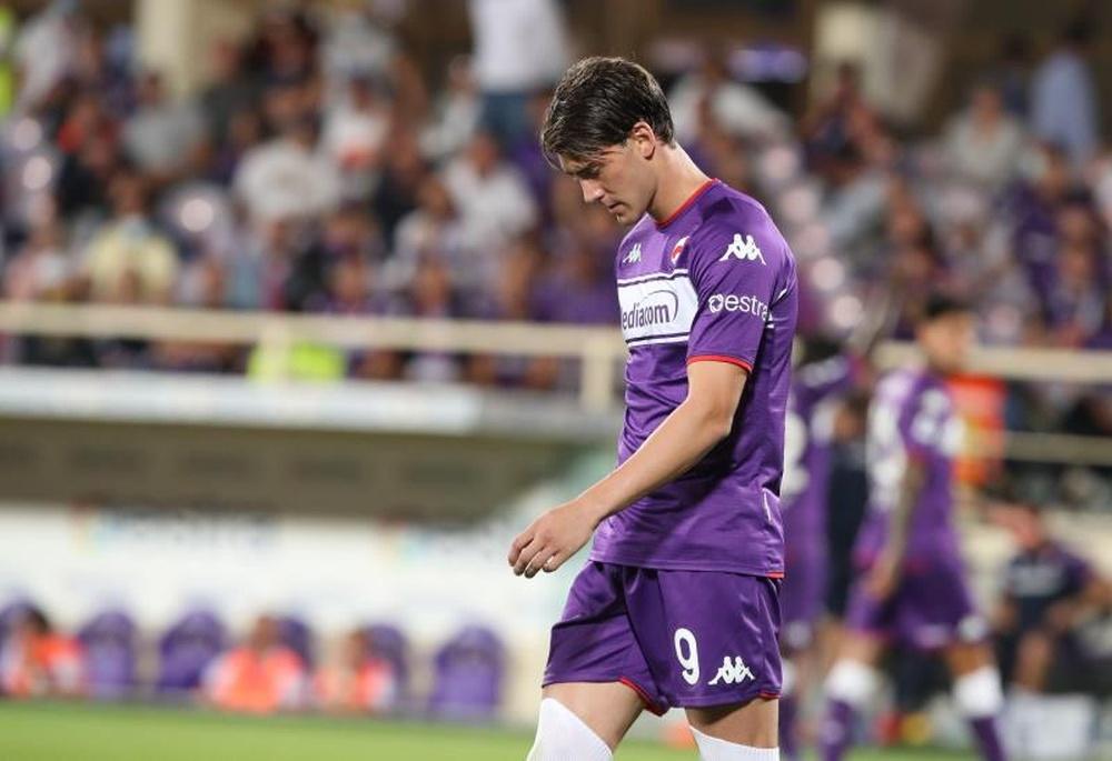 Liverpool s'ajoute à la liste des prétendants de Vlahovic. EFE