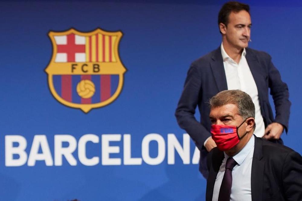 Ferran Reverter sulla situazione del Barça. EFE