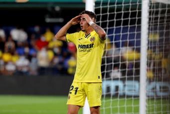Yéremy Pino acumula ocho titularidades con el Villarreal esta temporada. EFE