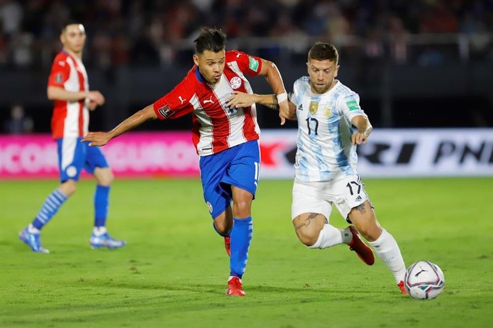 L'Albiceleste a fait match nul et vierge contre le Paraguay. EFE