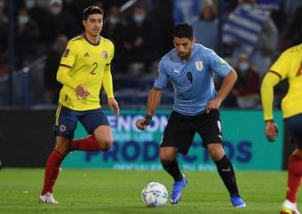 Luis Suárez se encuentra convocado con Uruguay en las clasificatorias para Catar 2022. EFE