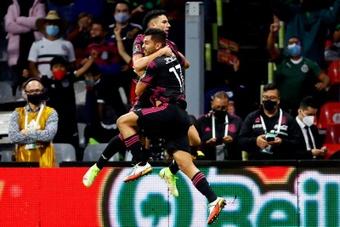 México y Canadá empataron a uno. EFE