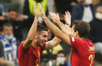 Ferran Torres denies loan move to Barça. EFE