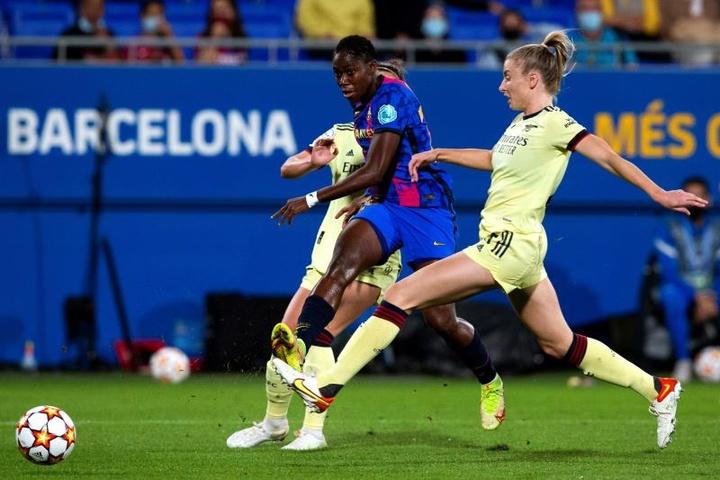 El Barça goleó al Arsenal por 4-1 en la ida. EFE