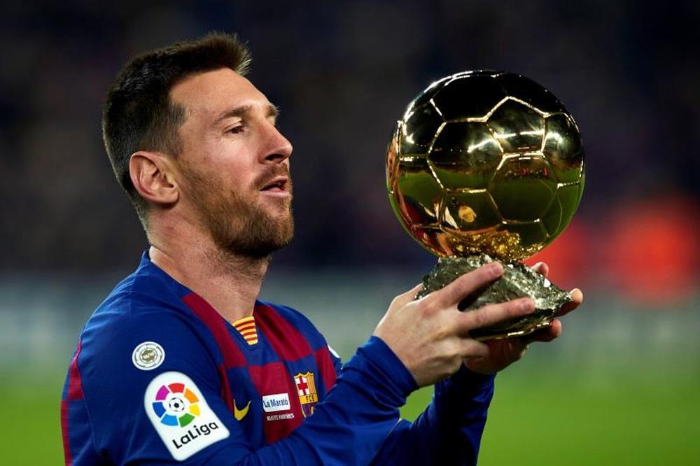 Messi votará em Neymar e Mbappé.EFE