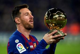 David Meca habló de la salida de Leo Messi del Barcelona. EFE